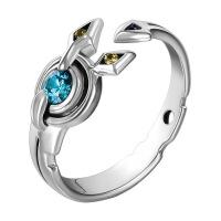 游戏人生戒指 二次元动漫周边朱碧休比多拉空白925银指环 朱碧角色印象戒指 均码