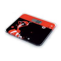 企鹅电子称 体重秤QE-2013B精准电子秤人体秤体重称 LCD液晶屏 称重体重计健康秤 防侧翻 防滑