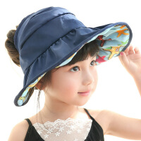 夏天女童薄款儿童太阳帽空顶帽时尚韩版夏季宝宝帽子遮阳帽