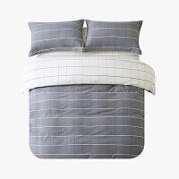 当当优品磨毛四件套 纯棉加厚磨毛保暖床品 双人床单四件套 普林斯