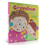 顺丰发货 A Lift-the-Flap Book Grandma and Me 我的奶奶和我 纸板书 Karen K