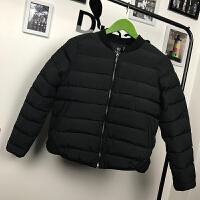 小白棉袄女冬季短款2018新款时尚轻薄小个子韩版羽绒棉衣外套