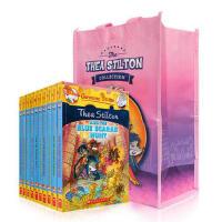 顺丰发货 女老鼠记者系列之菲-斯蒂顿姐妹团冒险故事1-10册套装 Geronimo Stilton经典英文原版少年读物 Thea Stilton The Sisterhood Set 儿童文学桥梁书