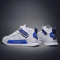 乔丹格兰板鞋男秋冬季休闲鞋高帮皮面男鞋新款运动鞋男学生韩版潮