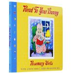 吴敏兰英文书单第1本 Read To Your Bunny 给兔宝宝讲故事 英文原版 大本绘本纸板书 启蒙教育