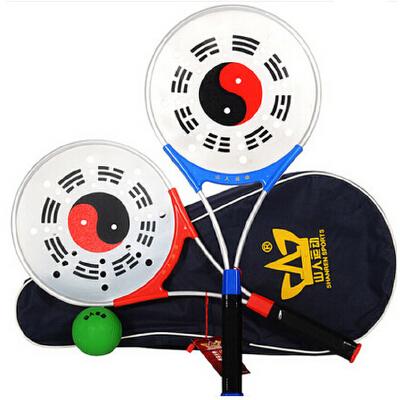 太极球中老年柔力球 铝合金柔力球拍 太极柔力球拍套装