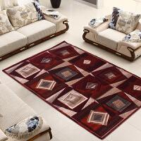 享家卡洛斯系列土耳其进口客厅卧室茶几现代简约地毯200*300�M手工剪花地毯地垫