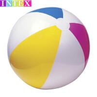 INTEX充�馍�┣�和��蛩�玩具球成人水上泳池水球手球排球包�]