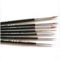 北京榭得堂 勾线笔 日本尼龙毛勾线笔 725型 00000#很细的面相笔