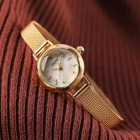 立体切割时尚小巧钢带时装石英女士手表女表