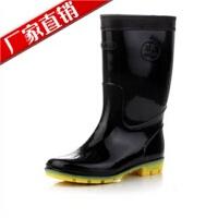 男式雨靴雨鞋中筒雨鞋PVC雨鞋劳保雨鞋