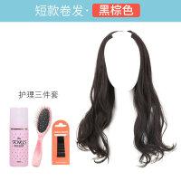 假发女长发中长发大波浪长卷发自然U型半全头套式假发片长直发