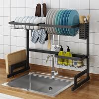 水槽架水槽上方碗架沥水架厨房置物架水池放碗碟碗筷收纳水槽挂篮