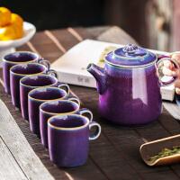 【新品】久制良品 整套功夫茶具礼盒装一壶六杯简约大容量茶壶带过滤内胆