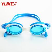 男女儿童宝宝游泳眼镜游泳装备儿童泳镜男童透明高清游泳镜
