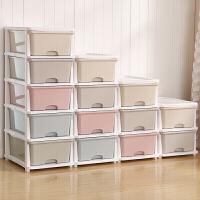 大号塑料组装床头收纳柜抽屉式塑料多层衣物整理储物柜子宝宝衣柜春节礼物情人节礼物