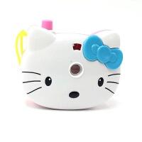 儿童相机 玩具Hello Kitty 凯蒂猫仿真照相机卡通投影相机宝宝玩具