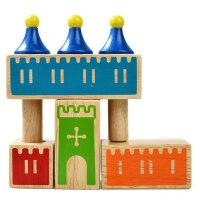 小乖蛋 桌面游戏  儿童益智玩具 任务迷宫智力游戏 梦想城堡48关