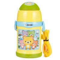 保温杯儿童水杯带吸管两用宝宝杯幼儿园学生水壶便携卡通ZT45抖音