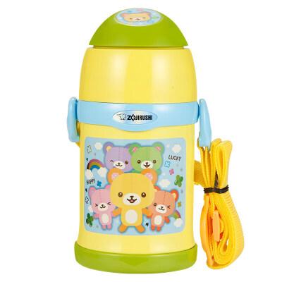 保温杯儿童水杯带吸管两用宝宝杯幼儿园学生水壶便携卡通ZT45抖音 萌娃新宠 双盖设计 保温保冷 宝宝爱喝水