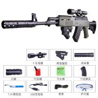 m46电动连发水珠弹枪手自一体sks绝地吃鸡求生抢M4儿童玩具水晶弹抢枪水晶弹