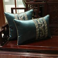 古典中式抱枕��木家具沙�l坐�|冬季客�d海�dx定制