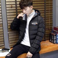 男士冬季外套2018新款棉袄韩版潮流短款加厚帅气冬天棉衣