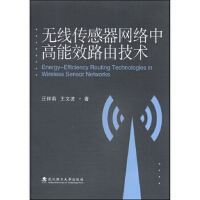【旧书二手书9成新】 无线传感器网络中高能效路由技术