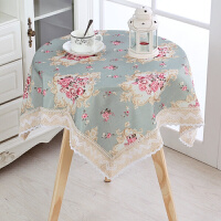 餐桌布艺现代简约台布长方形正方形小圆桌桌布欧式客厅茶几桌布定制
