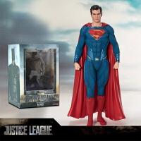 神奇女侠人偶模型正义联盟盒装礼物影视海王闪电侠蝙蝠侠摆件 全新盒装