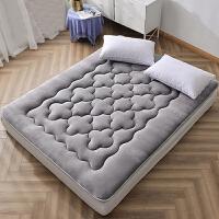 珊瑚绒榻榻米床垫1.5m1.8米双人学生宿舍床褥子单人垫被1.2