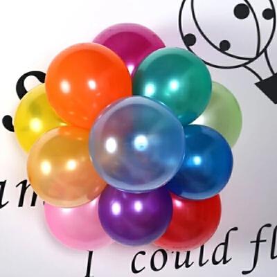 生日气球儿童派对儿童珠光拱门场景婚庆结婚用品装饰生日婚房布置气球婚礼