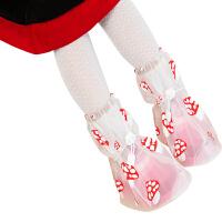 捷�N 宝宝雨鞋套雨天防水鞋套男女中高筒加厚防滑耐磨防雨鞋套儿童雨鞋套