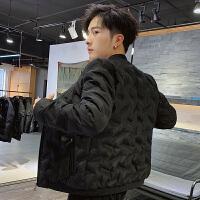 羽绒服男士加厚短款外套冬季2019新款冬装轻薄韩版帅气男装修身外套