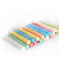 水溶性粉笔 无尘粉笔黑板贴教学粉笔绿板贴用儿童涂鸦粉笔