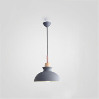 北欧创意餐厅吊灯简约客厅卧室马卡龙彩色铝材吊灯灯具灯饰