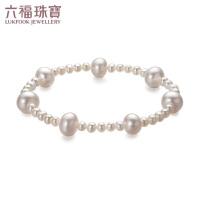 六福珠宝 及简系列时尚淡水珍珠手链女款手串* 定价F87ZZY008