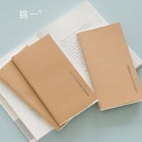旅行本内页 手帐笔记本替换内芯牛皮纸记事本方格空白横线小本子