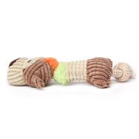 Madden 麦豆宠物用品 狗狗玩具 割条绒羊羔毛宠物玩具 狗狗用品玩具