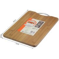 包邮!味老大 竹制实心莱板 148方形竹制切莱板 砧板 纯竹实心案板 45X32X1.9CM