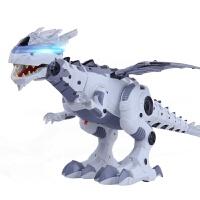 大号电动恐龙玩具机械霸王龙会走路智能恐龙机器人玩具