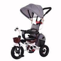 儿童车三轮脚踏车轻便1-3岁宝宝手推车婴儿自行车小孩童车QL-56