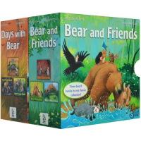暖房子经典绘本系列关于爱的故事贝尔熊6本纸板书套装Bear Feels Sick Bear Feels Scared Bear Wants More吴敏兰推荐英文原版亲子绘本