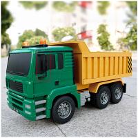 遥控工程车汽车玩具套装充电动挖掘机卡车超大号男孩儿童玩具模型