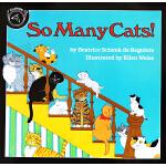 英文原版绘本 So Many Cats 汪培�E书单推荐1阶段 儿童绘本 儿童启蒙