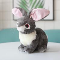 兔子毛绒玩具卡通可爱小号公仔女生礼物床上睡觉萌兔宝宝布娃娃