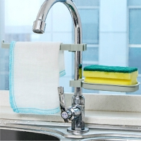 浴室水龙头沥水置物架水池收纳架厨房用品水槽海绵抹布沥水架皂托