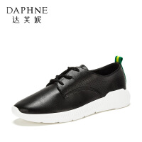 Daphne/�_芙妮 春季英���L平跟�A�^小白鞋�涡��\�有蓍e鞋-