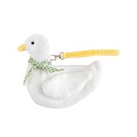 鸭鸭零钱包 动漫周边毛绒包包痛包可爱鸭子斜挎包二次元