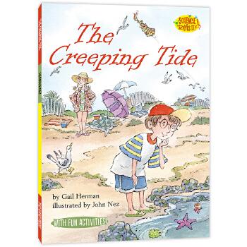 科学全知道:淘气的潮水Science Solves It! : The Creeping Tide 美国小学生都爱看的原版趣味科学故事书,科学、英语一起学,小学科学课完美辅助读物。发现科学魅力,学会探索科学的基本方法,拥有解决问题的必要能力。